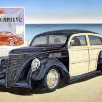 1937-Lincoln-Zephyr-Woody-Custom-Art-Expo